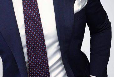 summer blue suit